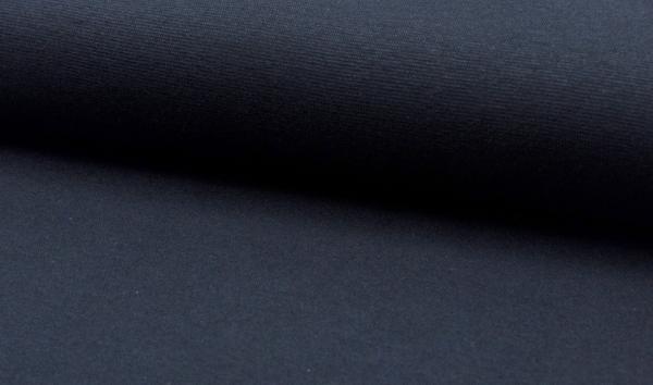 Bündchen dunkelblau - Schlauchware