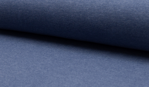 Bündchen jeans melange