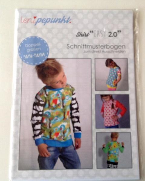 Leni P.Punkt Schnittmuster - Shirt easy 2.0 Gr. 50/56-158/164