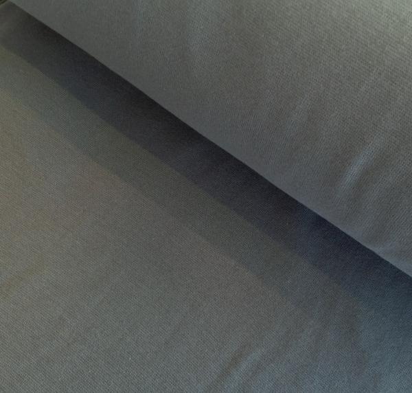 Bündchen dunkelgrau Baumwolle