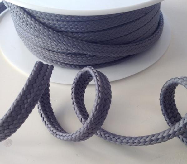 Hoodieband/Kordel grau 10 mm