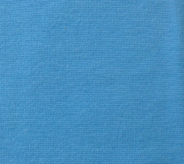 Bündchen uni hellblau - Schlauchware