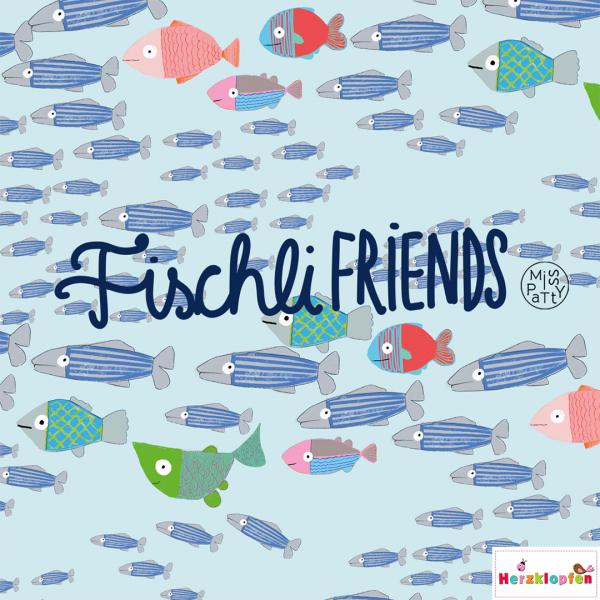 Lillestoff Jersey - Fischli Friends