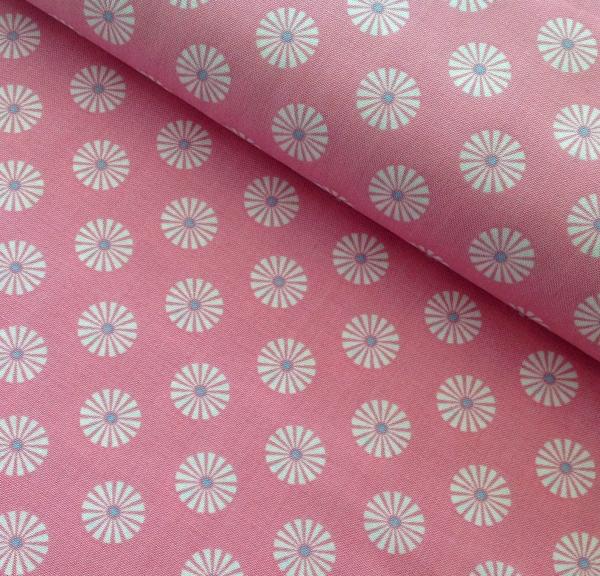 Baumwollstoff Summer Loft rosa