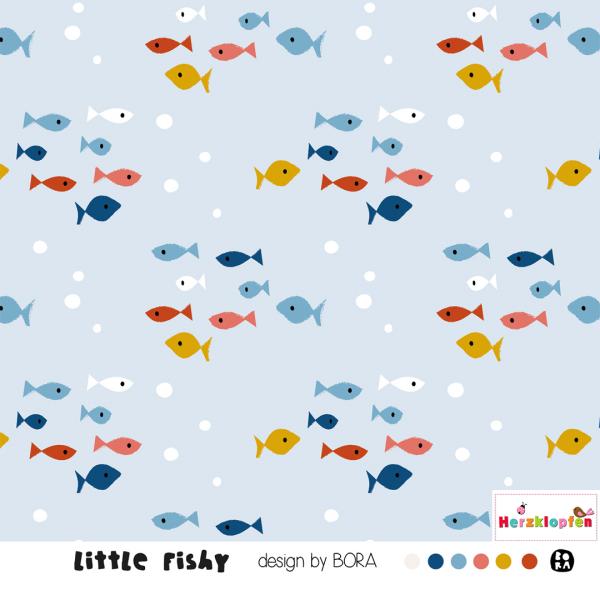 Lillestoff Jersey - Little Fishy