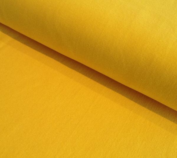 Bündchen gelb - Schlauchware