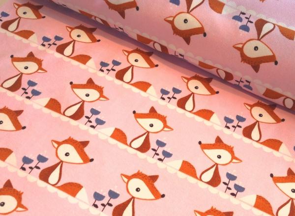 Biojersey Little Fox rosa