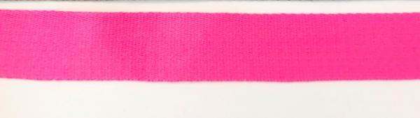 1 m Gurtband pink 4 cm - Baumwolle