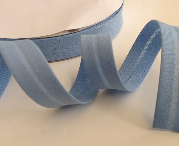 3 m Schrägband azul 18 mm