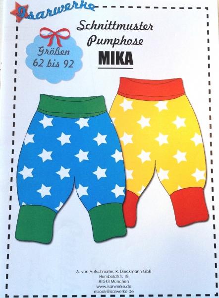 Papierschnittmuster Pumphose Mika