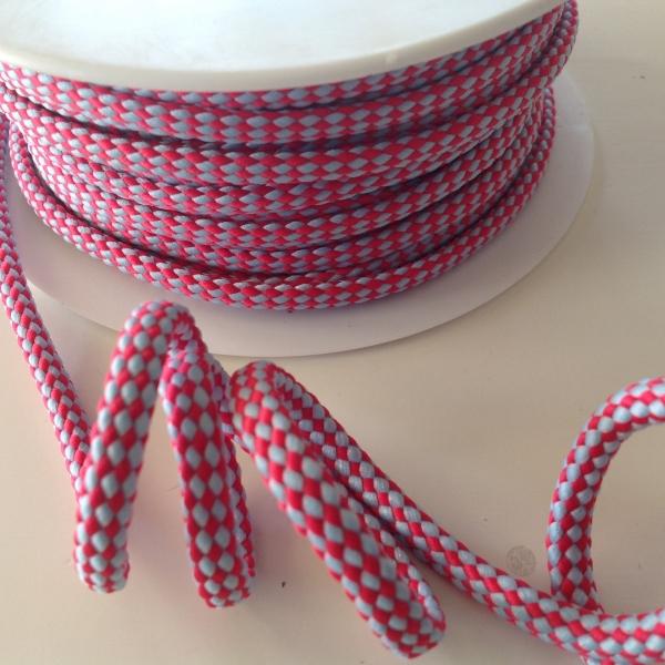 Hoodieband pink hellblau 5 mm