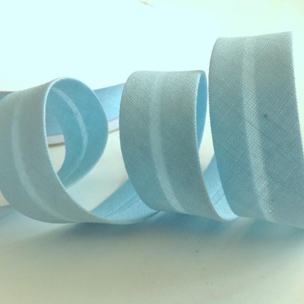 3 m Schrägband celeste 18 mm