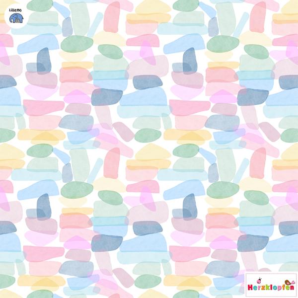 Lillestoff sommersweat - Leuchtsteine