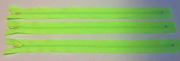 Reissverschluss neon grün 30 cm