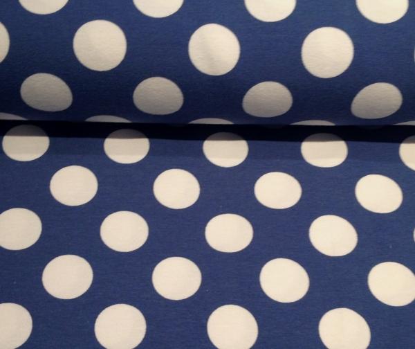 Jersey blau weisse Punkte