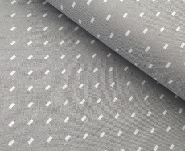 Stenzo Bio Jersey soft grau Muster