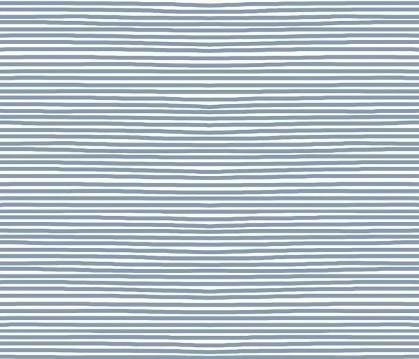 AVALANA Jersey Streifen jeansblau-weiss