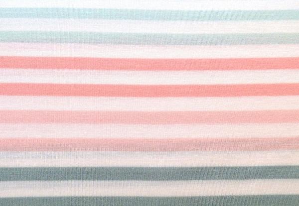 Jersey Streifen pastell