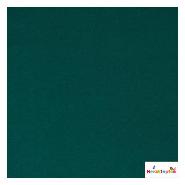 Jersey Gots - uni dunkelgrün