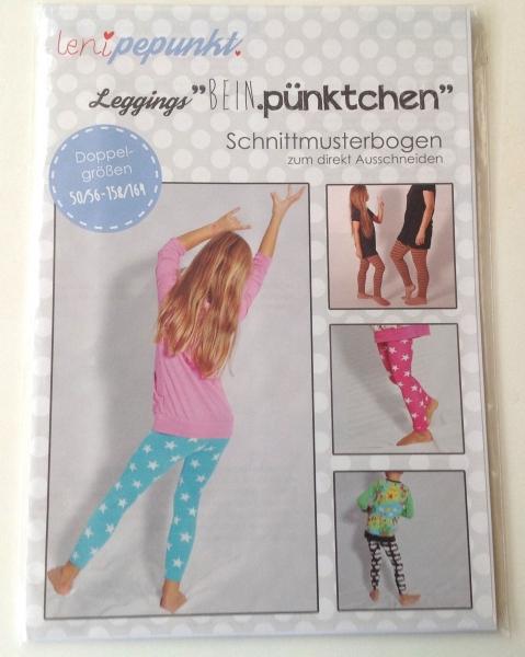 "Leni P.Punkt Schnittmuster -Leggings ""Bein.pünktchen"" Gr. 50/56-158/164"