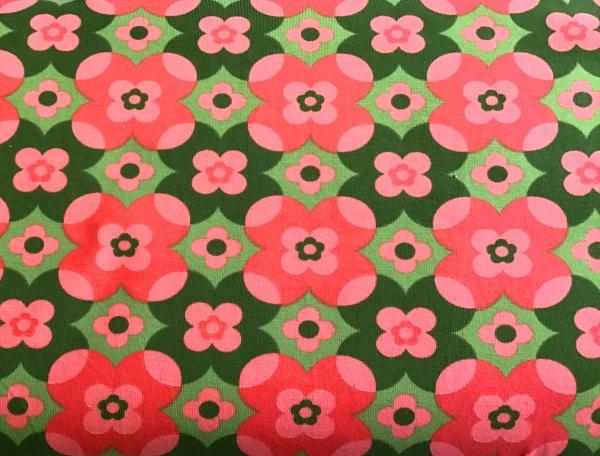 Jersey Blumen Retro Stenzo