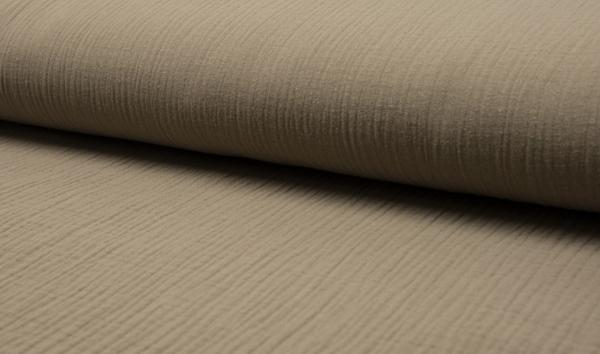 Baumwoll Musselin - sand
