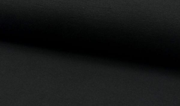 Bündchen schwarz - Schlauchware