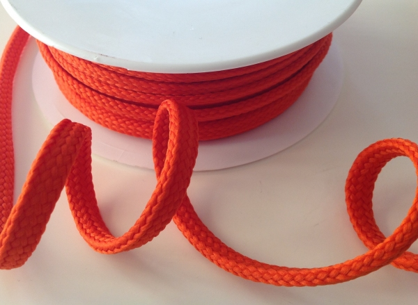 Hoodieband/Kordel 10 mm orange