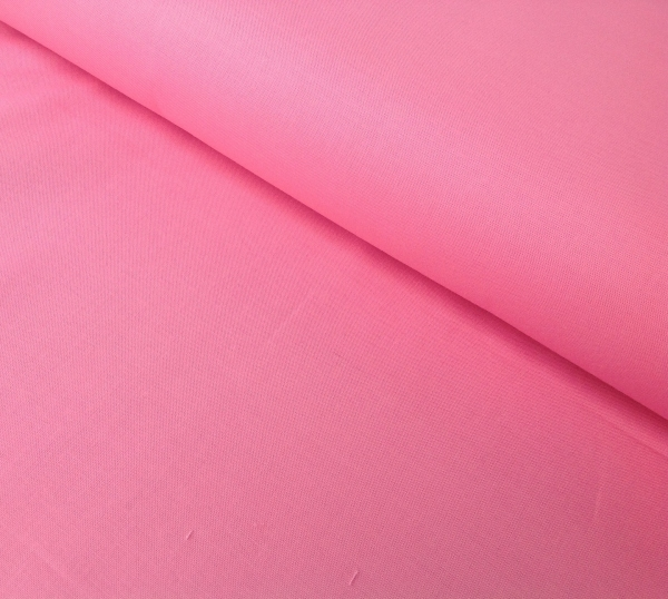 Stoff rosa uni Baumwolle