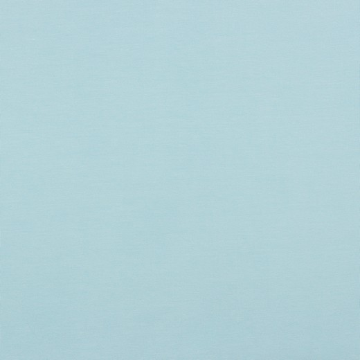 Baumwolljersey uni hellblau
