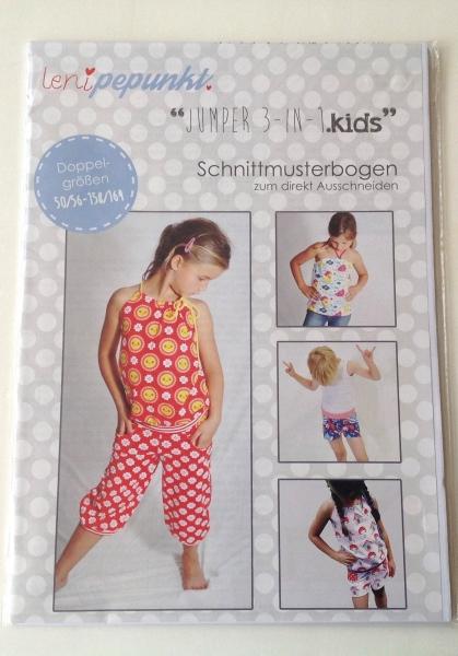 Schnittmuster Leni P.Punkt - Jumper 3 in 1.kids 50/56-158/164 ...