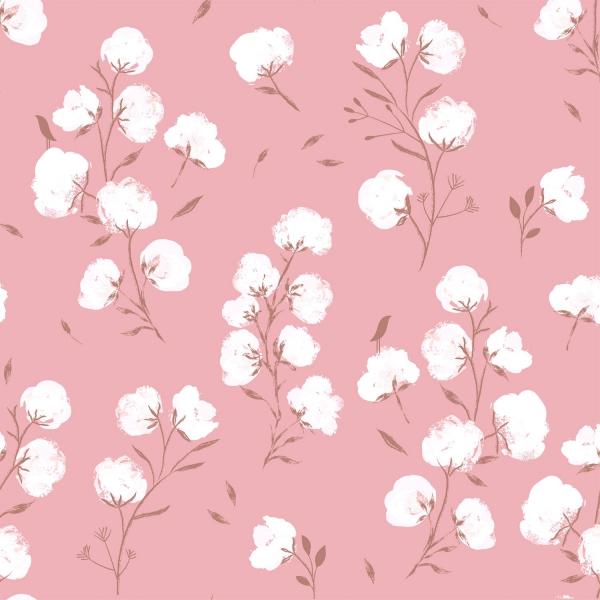 Softshell - Cotton Flower -