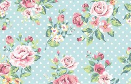 Frl von Julie - Jersey mit Blüten und Punkten
