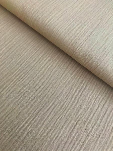 Baumwoll Musselin - sand-