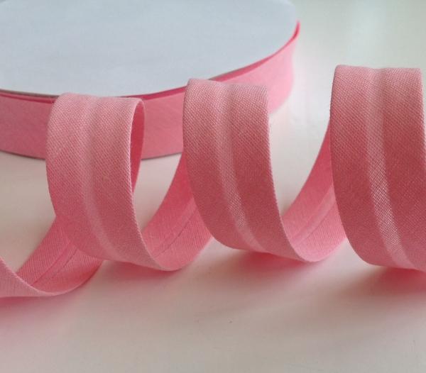 3 m Schrägband rosa 18 mm